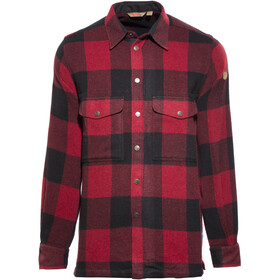 Fjällräven Canada T-shirt manches longues Homme, red